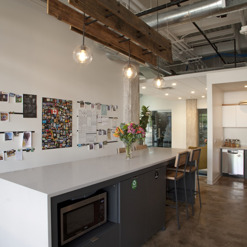 Kahler Slater office kitchen, Madison WI