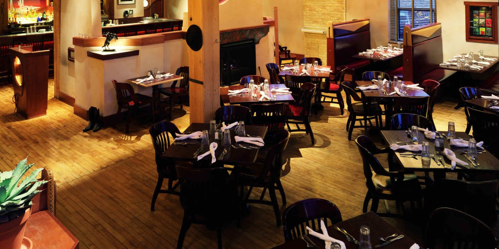 interior dining space at Eldorado Grill, Madison, WI